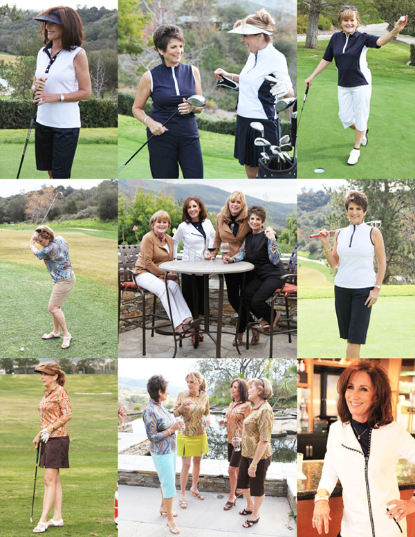 GoldenWear Golf Lifestyle for Women