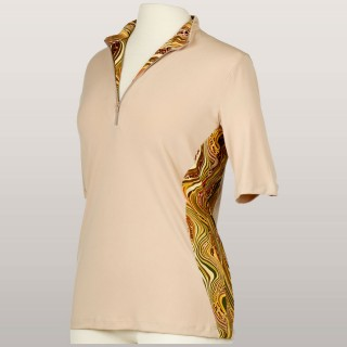 Cleverly Wild Short-Sleeve Top