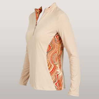 Cleverly Wild Long-Sleeve Top