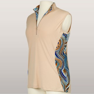 Cleverly Wild Sleeveless Top